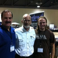 "Len and Jono with Steve Saint.""End of the spear"". Son of martyr Nate Saint. Amazing man"
