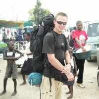 Travelling through Africa with our backpacks