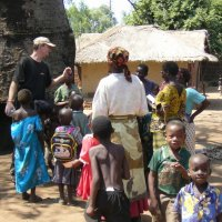 ministering in villages in Africa