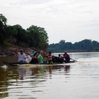 Travel on the Amazon river