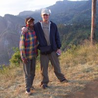 Led this Muslim to Jesus in the mountains in Tanzania