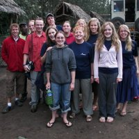 Outreach team in Tanzania from England